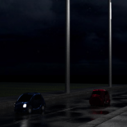 Futuristic road 1 render_14 (wet and night)