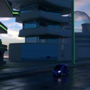 Futuristic road 1 render_33 (wet and cinamatic and HQ)