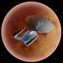 Enterprise render(D)