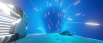 USS DElorean wormhole
